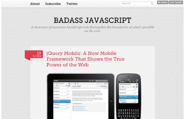 http://badassjs.com/post/949062770/jquery-mobile-a-new-mobile-framework-that-shows-the