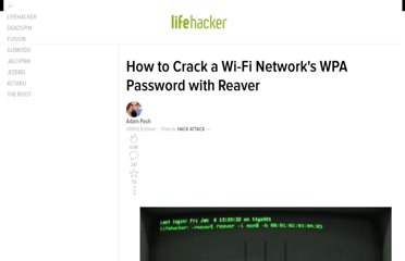 http://lifehacker.com/5873407/how-to-crack-a-wi+fi-networks-wpa-password-with-reaver