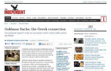 http://www.independent.co.uk/news/business/news/goldman-sachs-the-greek-connection-1899527.html