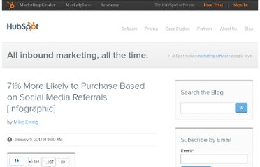 http://blog.hubspot.com/blog/tabid/6307/bid/30239/71-More-Likely-to-Purchase-Based-on-Social-Media-Referrals-Infographic.aspx
