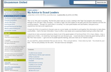 http://www.unun.us/project-updates/myadvicetoscoutleaders