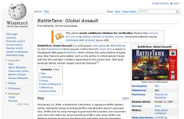 http://en.wikipedia.org/wiki/BattleTanx:_Global_Assault