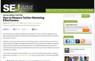 http://www.searchenginejournal.com/how-to-measure-the-effectiveness-of-your-twitter-marketing/17763/