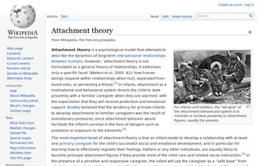 http://en.wikipedia.org/wiki/Attachment_theory