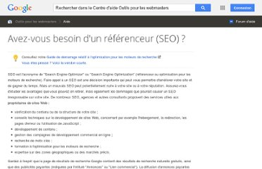 http://support.google.com/webmasters/bin/answer.py?hl=fr&answer=35291