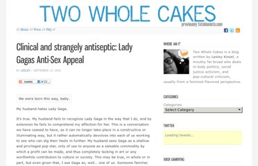 http://blog.twowholecakes.com/2010/09/clinical-and-strangely-antiseptic-lady-gagas-anti-sex-appeal/