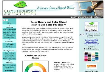 http://www.carolthompsonbeautysecrets.com/color-theory-and-color-wheel.html