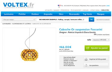 http://www.voltex.fr/caboche-or-suspension-foscarini-pid2316.htm