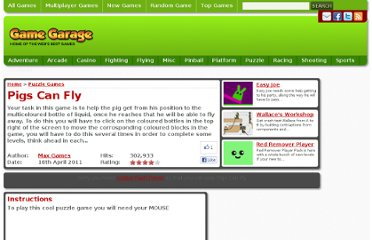 http://www.gamegarage.com/game/pigs-can-fly/