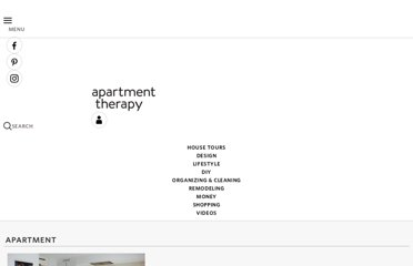 http://www.apartmenttherapy.com/categories/apartment