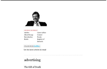 http://www.monbiot.com/category/advertising/