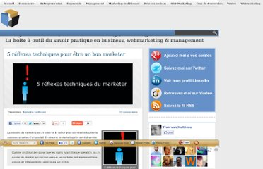 http://www.matthieu-tranvan.fr/marketing-traditionnel/5-reflexes-techniques-etr-bon-marketer.html