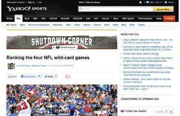 http://sports.yahoo.com/blogs/nfl-shutdown-corner/ranking-four-nfl-wild-card-games-195514204.html