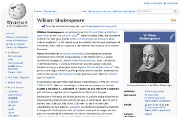 http://fr.wikipedia.org/wiki/William_Shakespeare