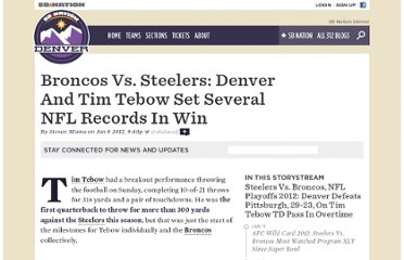 http://denver.sbnation.com/denver-broncos/2012/1/8/2693094/tim-tebow-denver-broncos-nfl-record-steelers