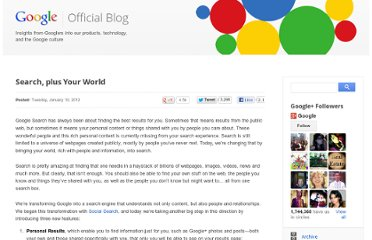 http://googleblog.blogspot.com/2012/01/search-plus-your-world.html