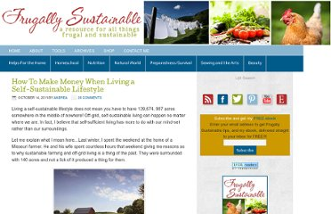 http://frugallysustainable.com/2011/10/how-to-make-money-when-living-self/