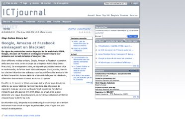 http://www.ictjournal.ch/fr-CH/News/2012/01/10/Google-Amazon-et-Facebook-envisagent-un-blackout.aspx