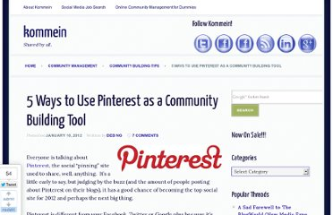 http://kommein.com/5-ways-to-use-pinterest-as-a-community-building-tool/