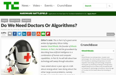 http://techcrunch.com/2012/01/10/doctors-or-algorithms/
