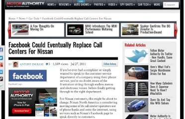 http://www.motorauthority.com/news/1063900_facebook-could-eventually-replace-call-centers-for-nissan