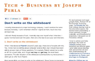 http://www.jperla.com/blog/post/don-t-write-on-the-whiteboard