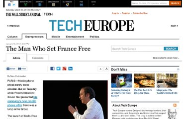 http://blogs.wsj.com/tech-europe/2012/01/10/the-man-who-set-france-free/
