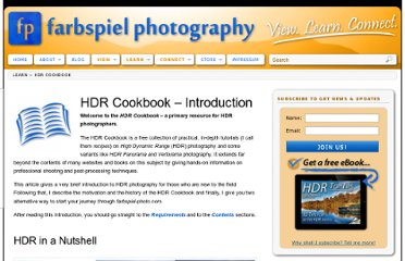 http://farbspiel-photo.com/learn/hdr-cookbook