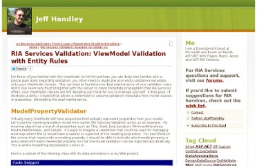 http://jeffhandley.com/archive/2011/09/06/ViewModelValidation.aspx