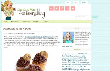http://www.the-girl-who-ate-everything.com/2011/02/cookie-dough-stuffed-cupcakes.html