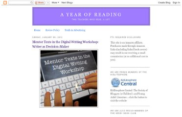 http://readingyear.blogspot.com/2012/01/mentor-texts-in-digital-writing.html