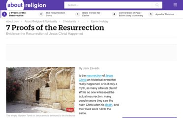 http://christianity.about.com/od/easter/a/7-Proofs-Of-The-Resurrection.htm