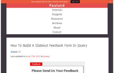 http://www.paulund.co.uk/how-to-build-a-slideout-feedback-form-in-jquery