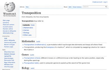 http://en.wikipedia.org/wiki/Transposition