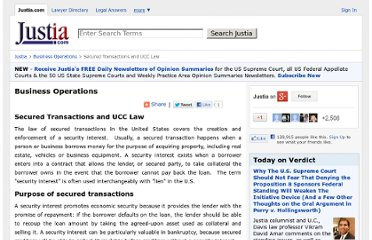 http://www.justia.com/business-operations/docs/secured-transactions.html