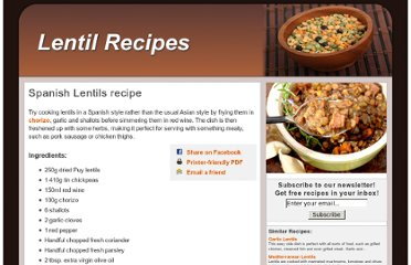 http://www.lentilrecipes.co.uk/spanish.html