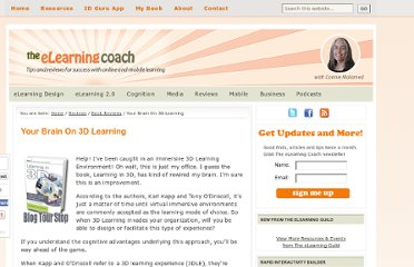 http://theelearningcoach.com/elearning2-0/your-brain-on-3d-learning/