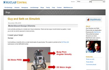 http://blogs.mathworks.com/seth/2011/12/27/model-based-design-dilemma/