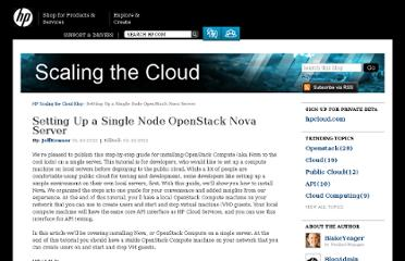 http://h30529.www3.hp.com/t5/HP-Scaling-the-Cloud-Blog/Setting-Up-a-Single-Node-OpenStack-Nova-Server/ba-p/263