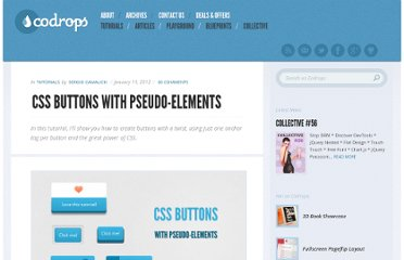 http://tympanus.net/codrops/2012/01/11/css-buttons-with-pseudo-elements/