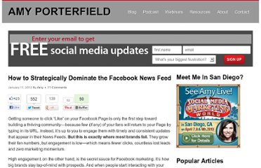 http://www.amyporterfield.com/2012/01/how-to-strategically-dominate-the-facebook-news-feed/