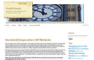 http://weblogs.asp.net/fredriknormen/archive/2009/08/10/how-submitchanges-works-in-net-ria-servies.aspx