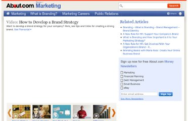 http://video.about.com/marketing/How-to-Develop-a-Brand-Strategy.htm