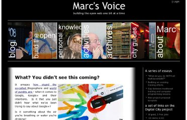 http://marc.digitalcitymechanics.com/2012/01/11/what-you-didnt-see-this-coming/