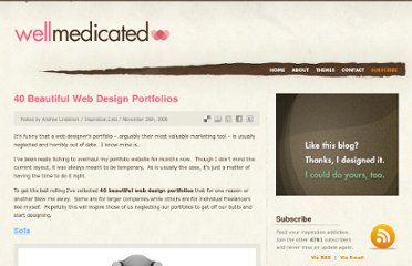 http://wellmedicated.com/inspiration/40-beautiful-web-design-portfolios/
