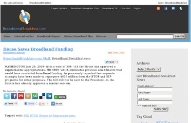 http://broadbandbreakfast.com/2010/07/house-saves-broadband-funding/