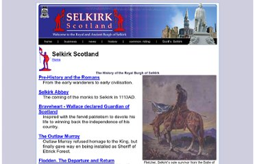 http://www.selkirk.bordernet.co.uk/history/index.html