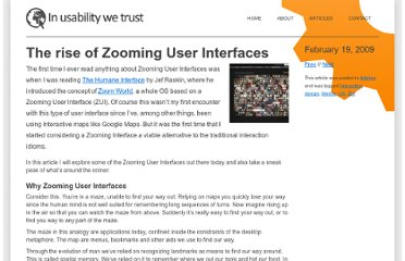http://www.svennerberg.com/2009/02/the-rise-of-zooming-interfaces/