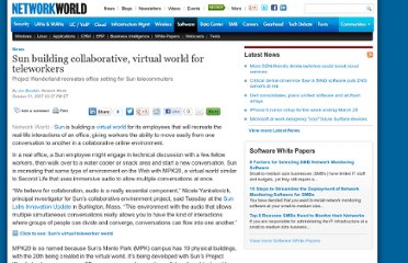 http://www.networkworld.com/news/2007/103107-sun-virtual-teleworkers.html