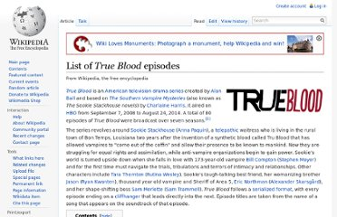 http://en.wikipedia.org/wiki/List_of_True_Blood_episodes